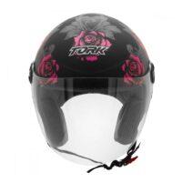 Capacete-Pro-Tork-New-Liberty-Three-Flowers-Preto-Rosa-2