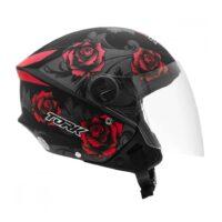 Capacete-Pro-Tork-New-Liberty-Three-Flowers-Preto-Vermelho-3