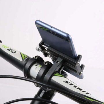 Suporte GPS Celular Guidão Alumínio