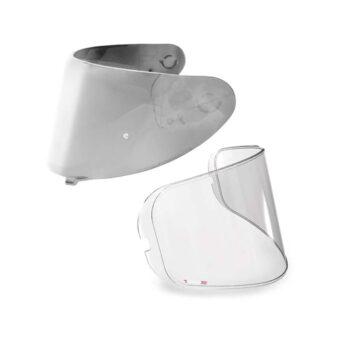 Kit Viseira Espelhada Silver e Pinlock Axxis Original