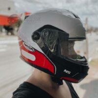 Capacete-Nasa-NS-1001-Route-Branco-Vermelho-7