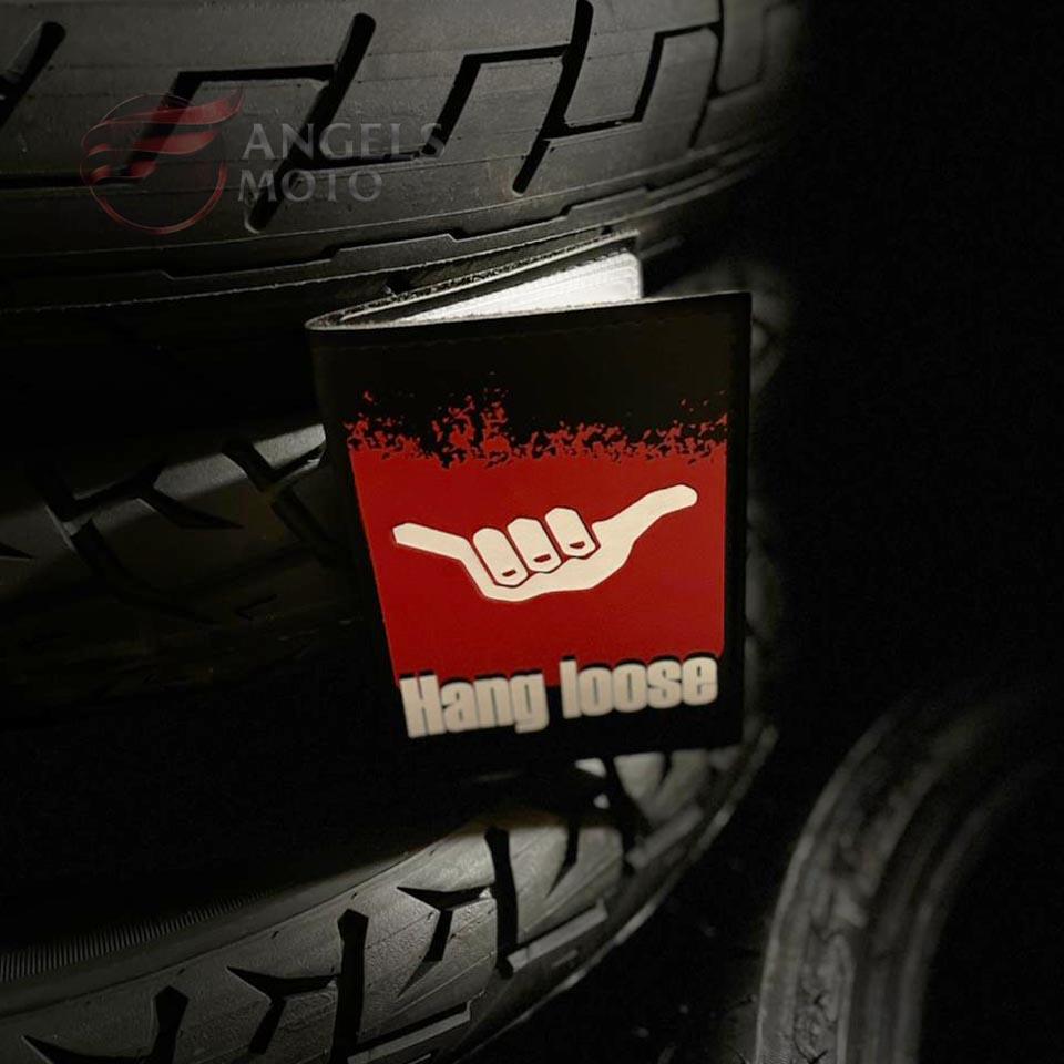 Carteira Porta Documento Motociclista Hang Loose