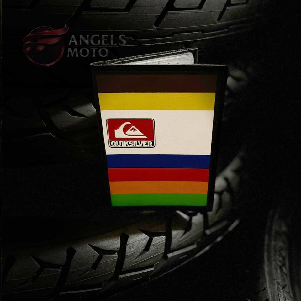 Carteira Porta Documento Motociclista Quiksilver Colors