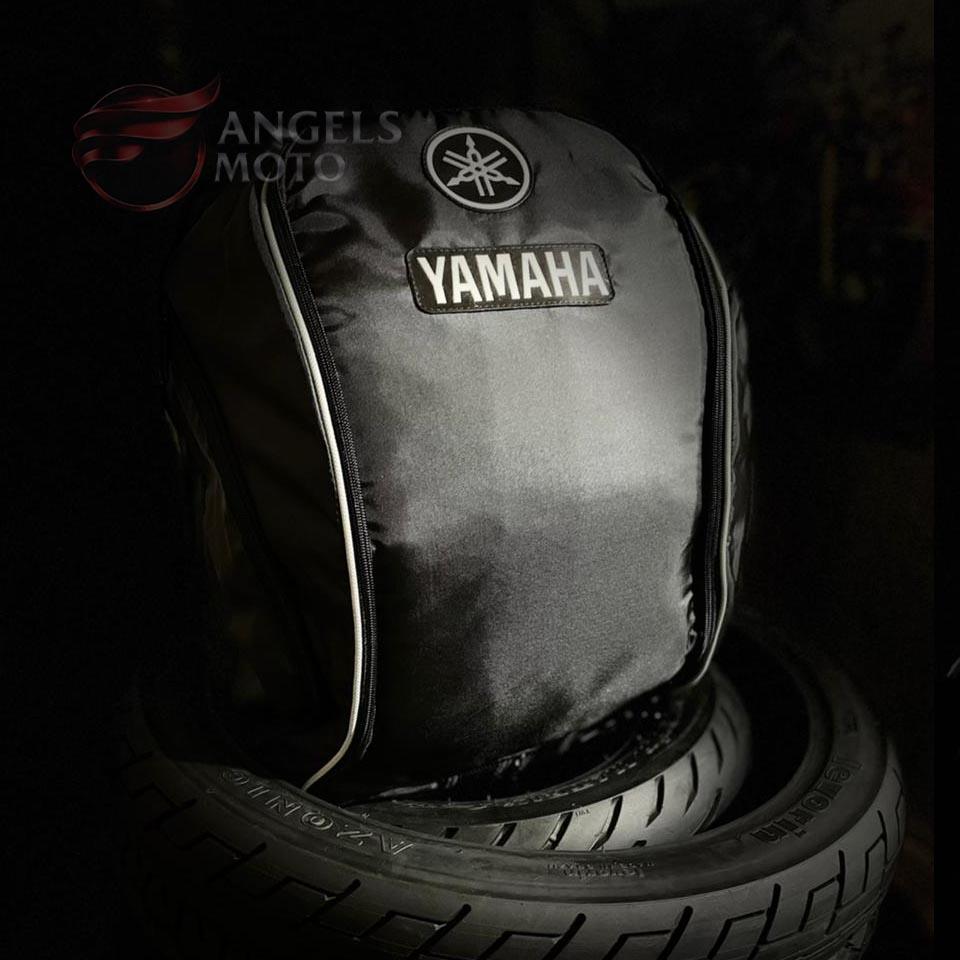Mochila Nylon Yamaha Bolso Duplo