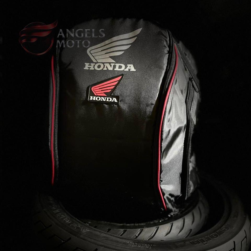 Mochila Nylon Honda Bolso Duplo