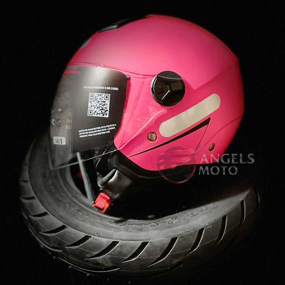 Capacete Norisk Orion City Matte Pink Fluor Fosco
