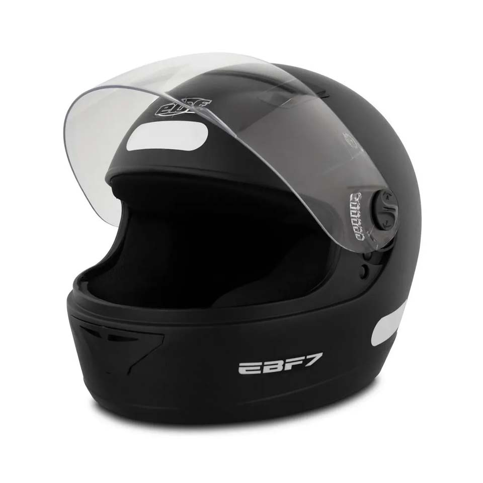 Capacete EBF 7 Solid Preto Fosco