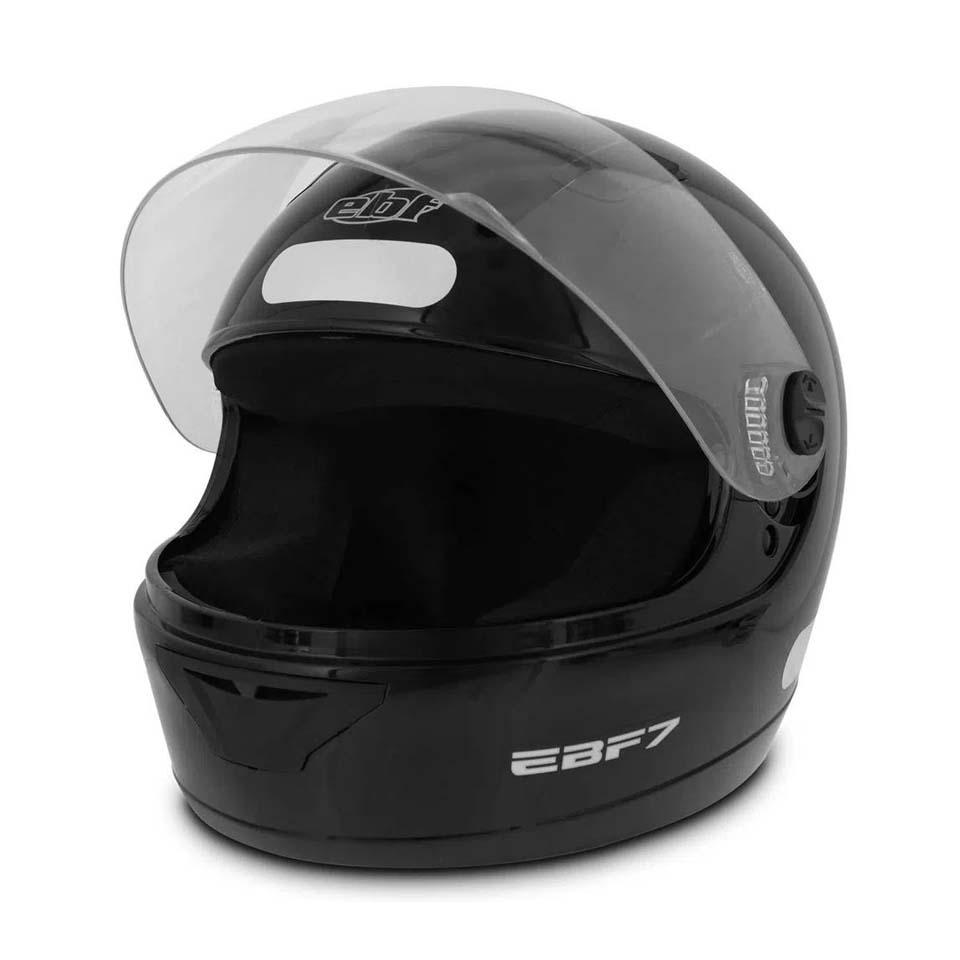 Capacete EBF 7 Solid Preto