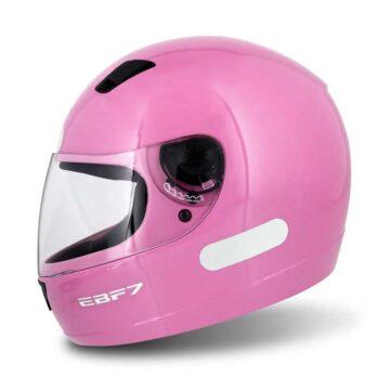 Capacete EBF 7 Solid Rosa