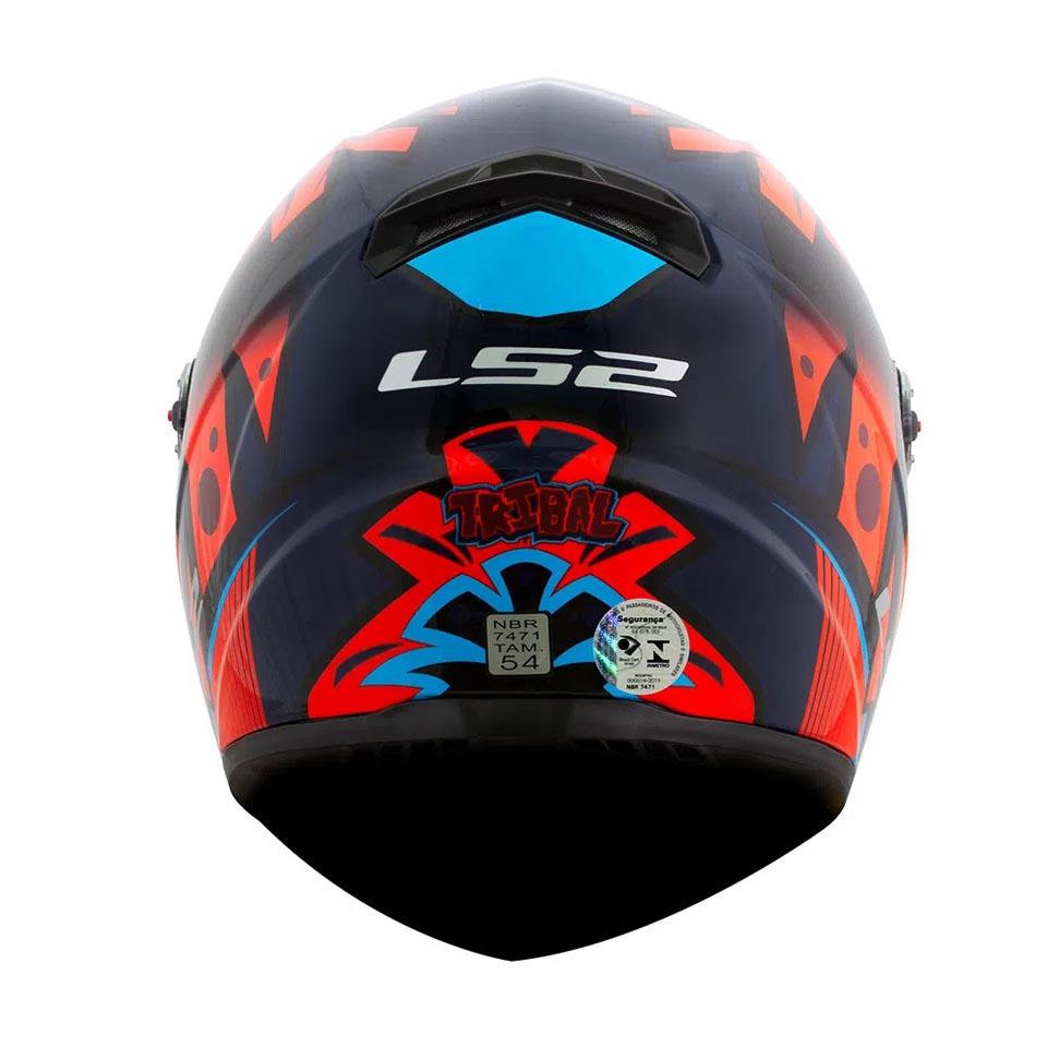 Capacete LS2 FF358 Tribal Orange