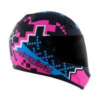 capacete-norisk-ff391-pixel-matt-black-blue-pink-2