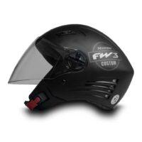 Capacete-FW3-X-Open-Custom-Preto-Fosco-Grafite