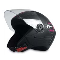 Capacete-FW3-X-Open-Custom-Preto-Fosco-Rosa-2