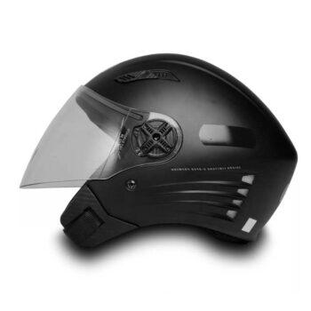 Capacete FW3 X Open Premium Preto Fosco