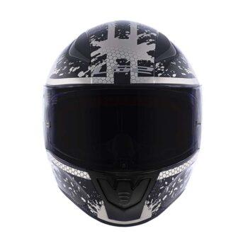 Capacete LS2 FF353 Rapid Spy Black Silver