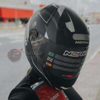 Capacete-Norisk-FF391-Stripes-Matte-Black-Gry-White-2