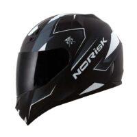 Capacete-Norisk-FF391-Stripes-Matte-Black-Gry-White-4