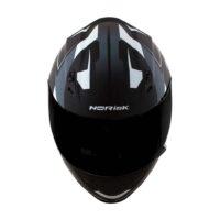 Capacete-Norisk-FF391-Stripes-Matte-Black-Gry-White-5