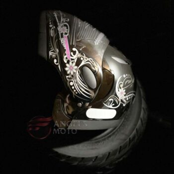 Capacete Taurus Zarref V4 Classic Femme Preto