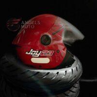 Capacete-Taurus-Joy23-Open-Face-Vermelho-2