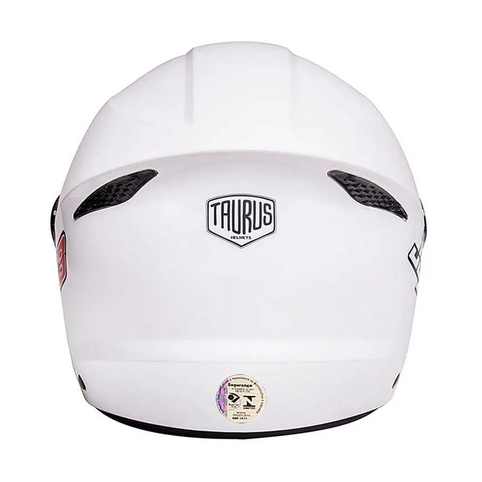 Capacete Taurus Joy23 Open Face Branco