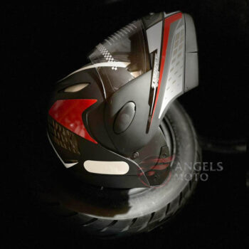 Capacete Taurus Zarref V4 Grafic Preto Fosco