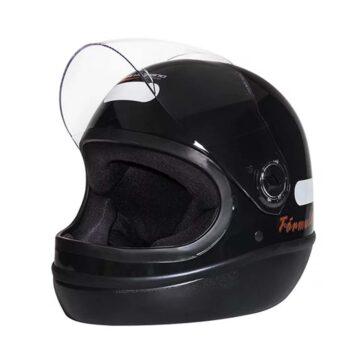 Capacete Taurus Fórmula 1 Classic Preto