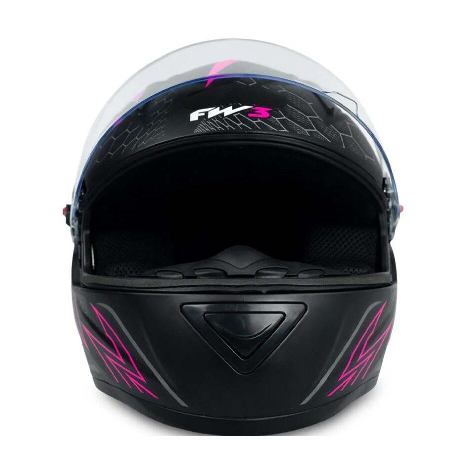 Capacete FW3 GT 2 Rosa
