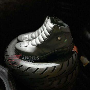 Bota Motocicle 16500 Zíper Com Protetor Preta