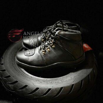 Bota Top Boots Cadarço Couro