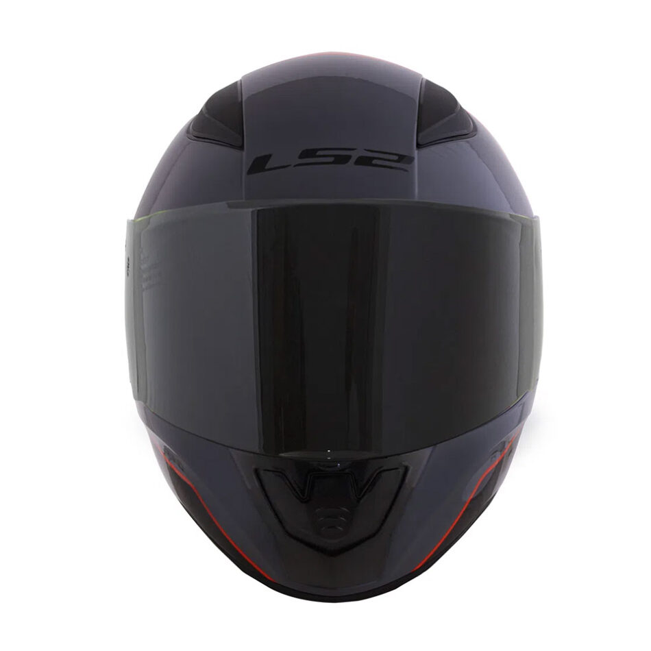 Capacete LS2 FF353 Rapid Multiply Gry Orange Black
