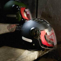 Capacete LS2 OF562 Airflow Monocolor Matte Black