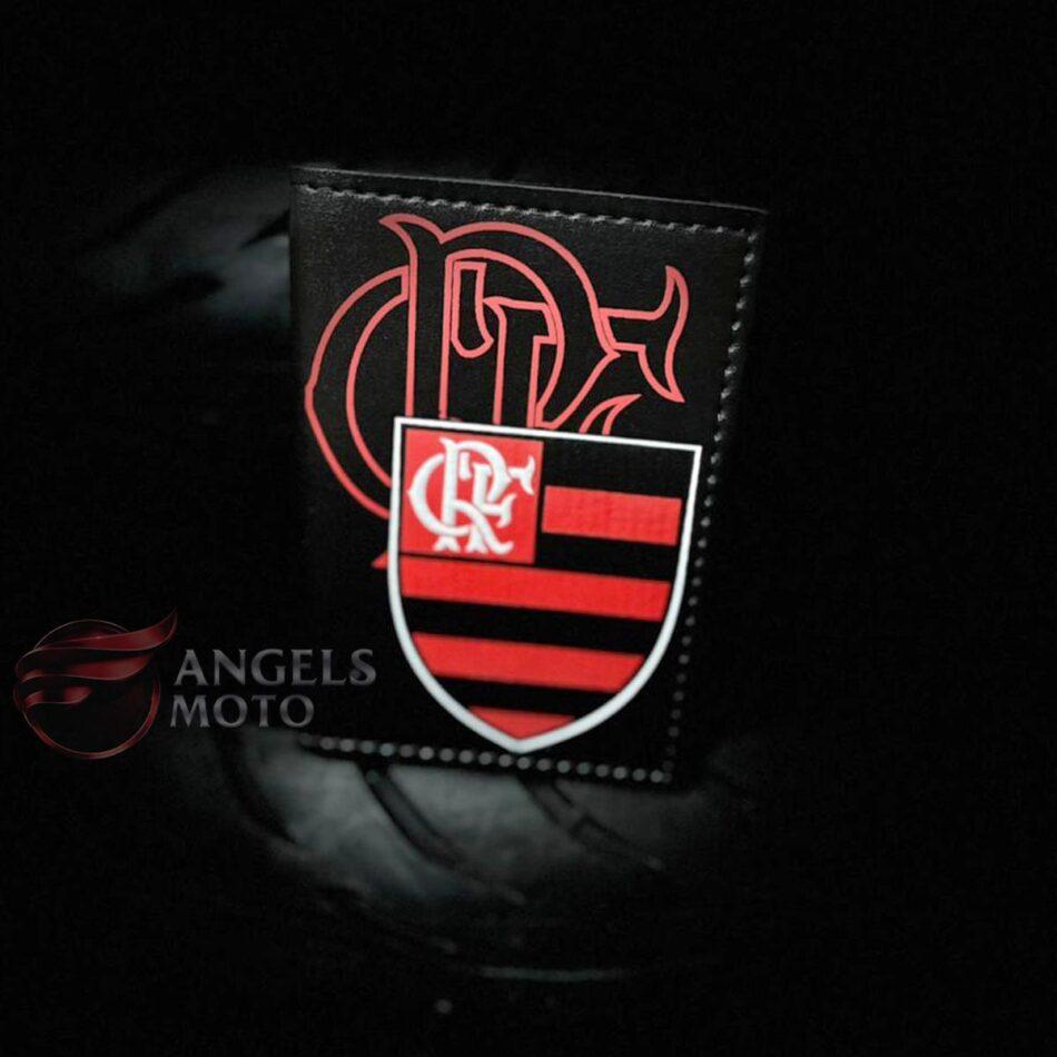 Carteira Porta Documento Motociclista Flamengo