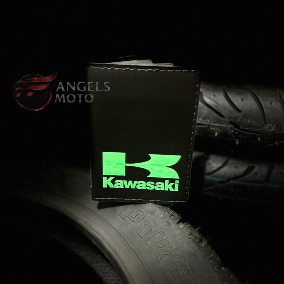 Carteira Porta Documento Motociclista Kawazaki