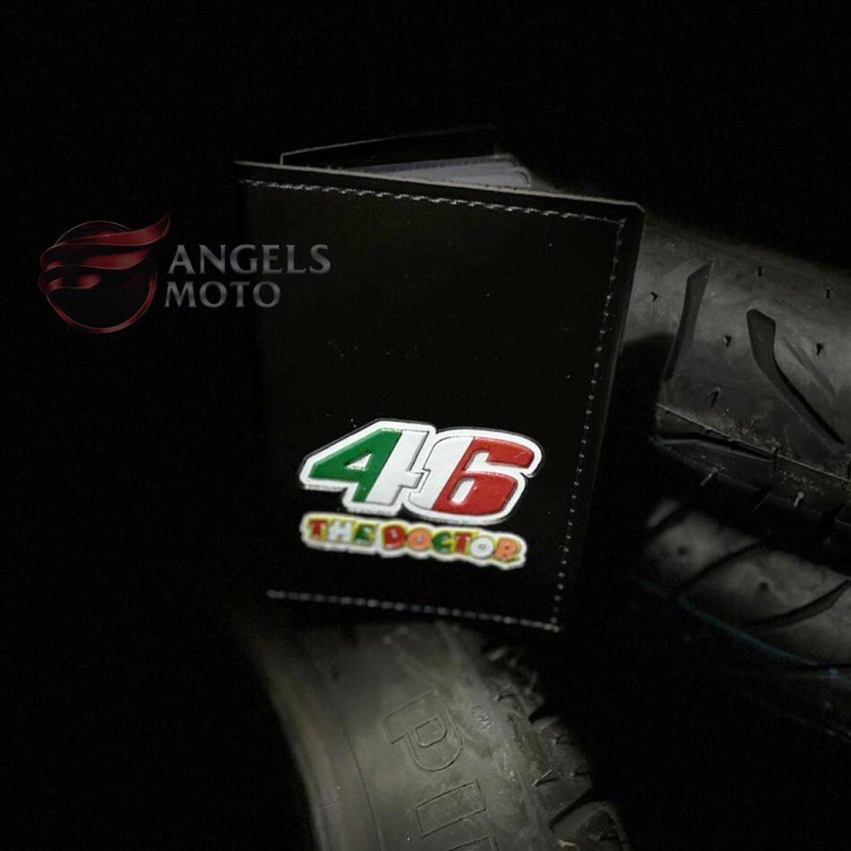 Carteira Porta Documento Motociclista 46 The Doctor Italia