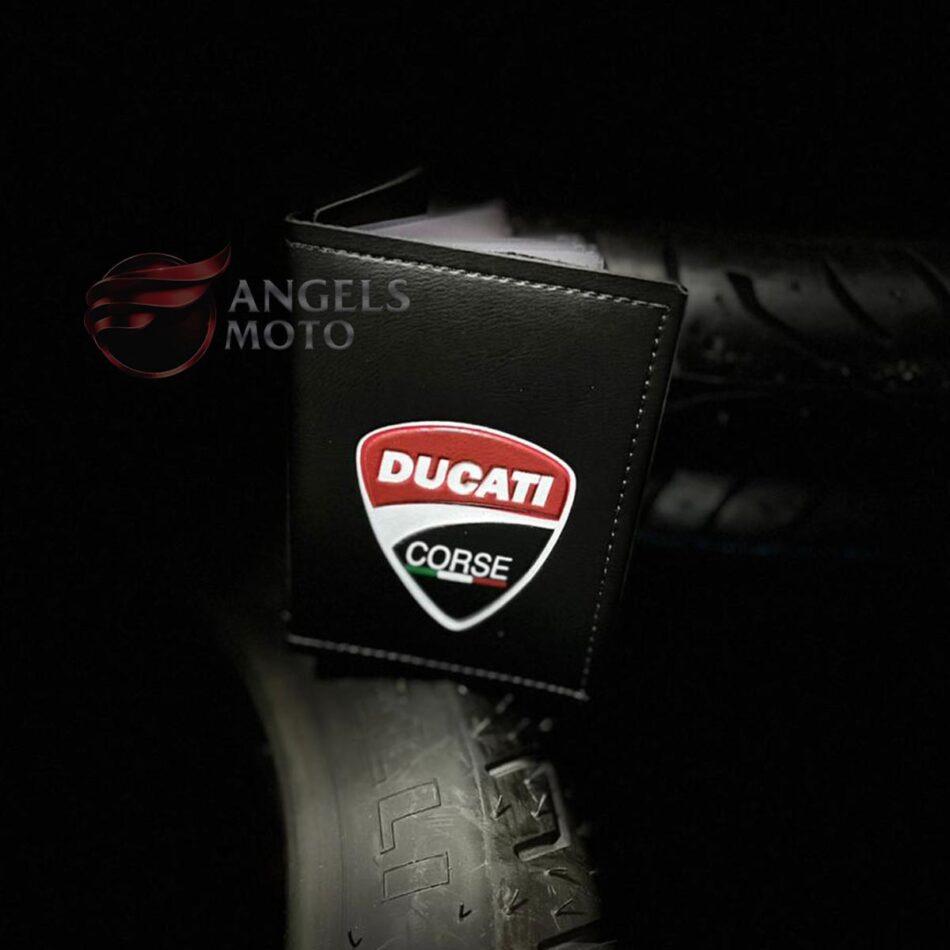 Carteira Porta Documento Motociclista Ducati