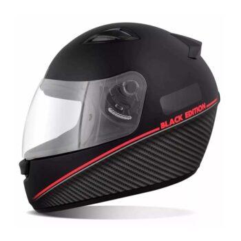 Capacete EBF Spark Black Edition Vermelho