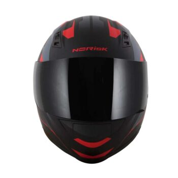 Capacete Norisk FF391 Stripes Matte Black Gry Red