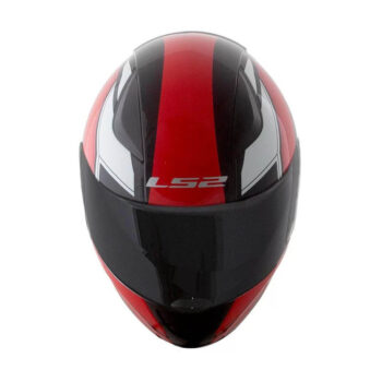 Capacete LS2 FF353 Rapid Infinity Black Red White