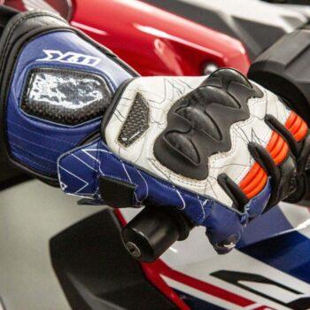 Luva X11 Racer 2 Couro Masculina