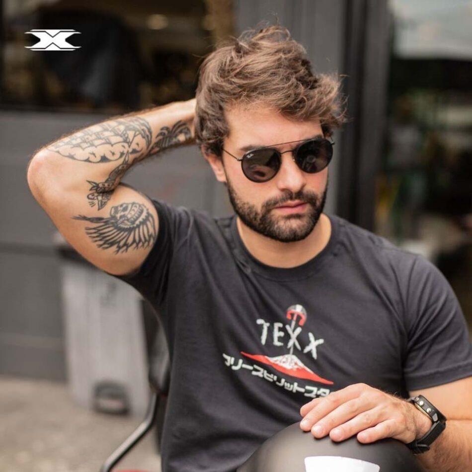 Camiseta Texx Preta Bosozoku