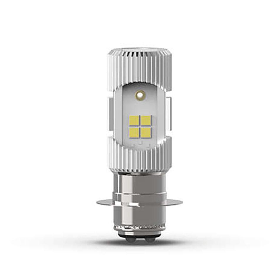 Lampada Farol Philips M5 Led Uem Moto 11163uemx1 - Luz Branca 6500k C/ 100% + Mais Visibilidade - Design Compacto Soquet