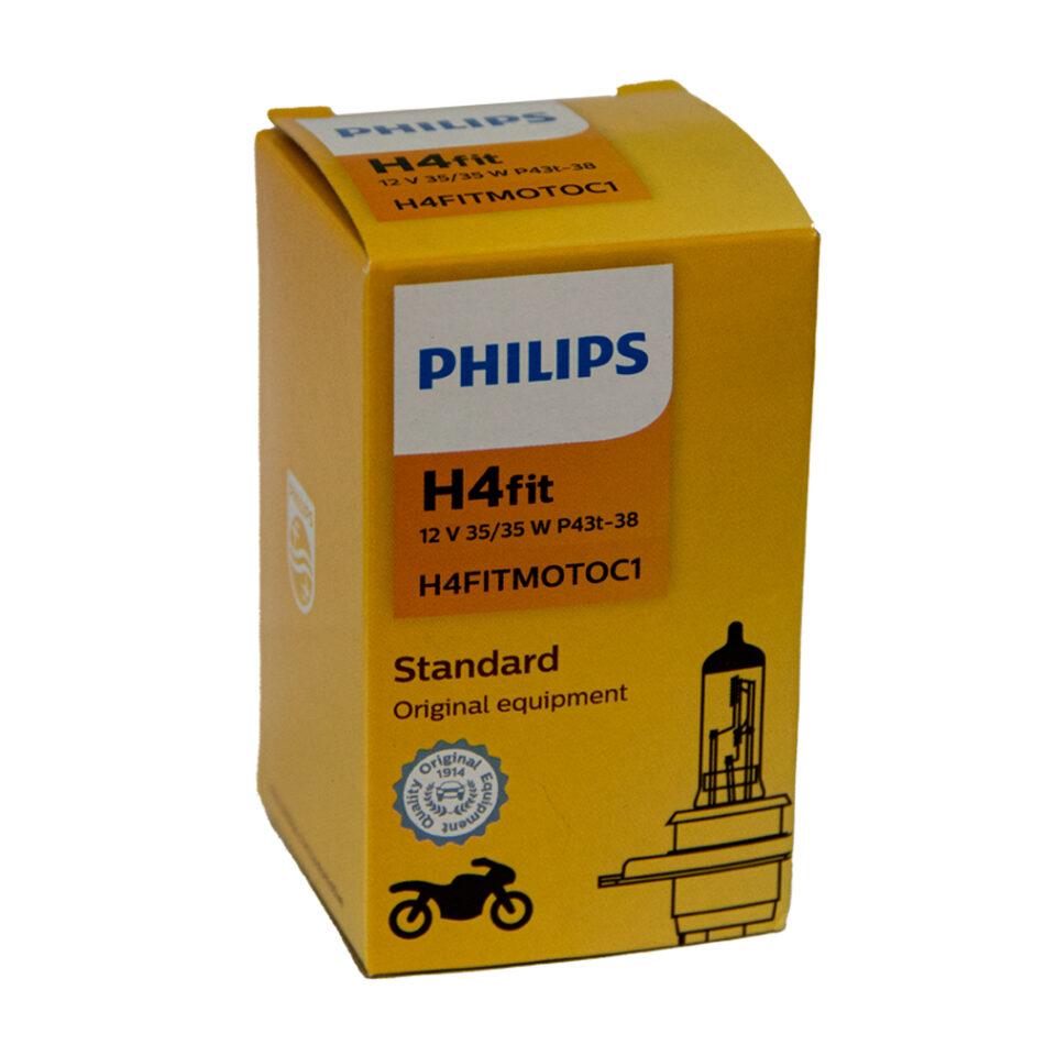 Lampada Farol Philips Hs1 12v 35/35w (hs1-12636-ci) Cg 160 - Cg 150 14/ - Fan125 2014/ - Fazer 150