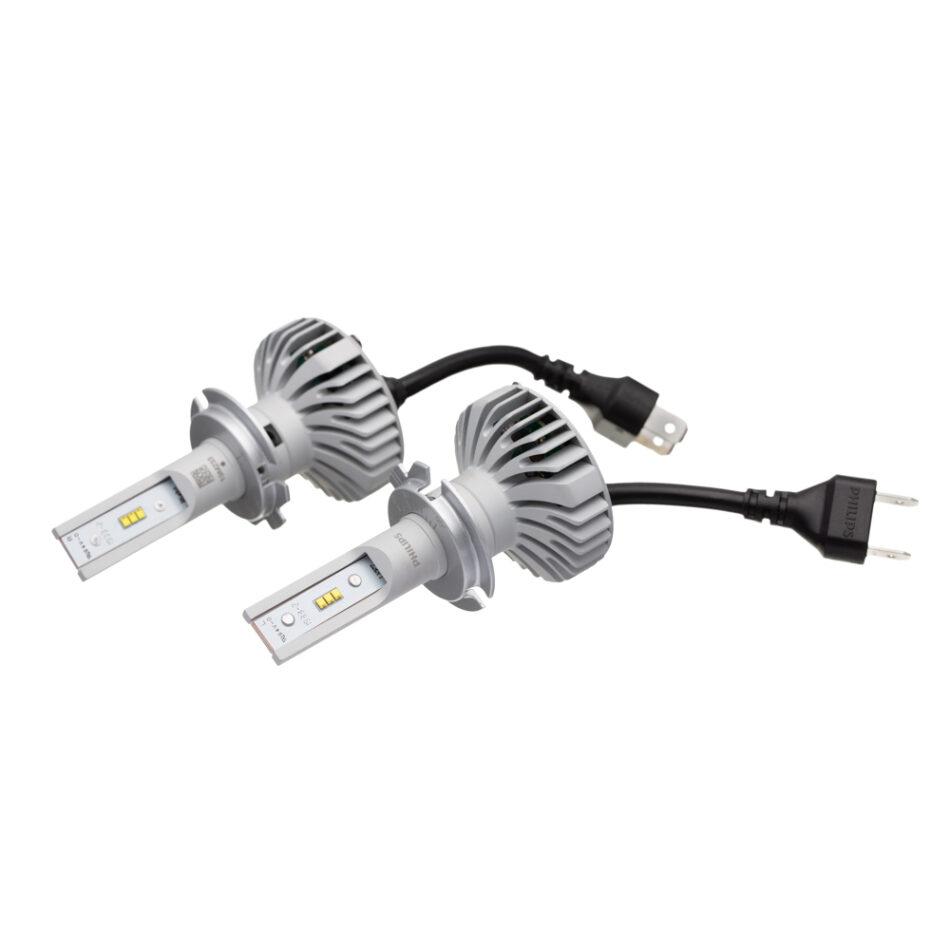 Lampada Farol Philips H7 Led (par) Para Veiculos Que Utilizem Sistema De 60/55w Led H7 11972 Ulw X2