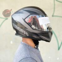 capacete-bieffe-b12-flat-preto-fosco-grafite