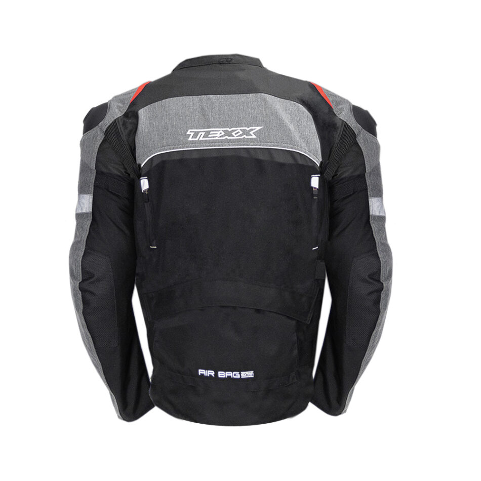 Jaqueta Texx Armor Masculina Airbag Edition Vermelha