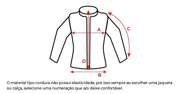 Jaqueta Texx New Strike V2 Ld Feminina Preta E Vermelha
