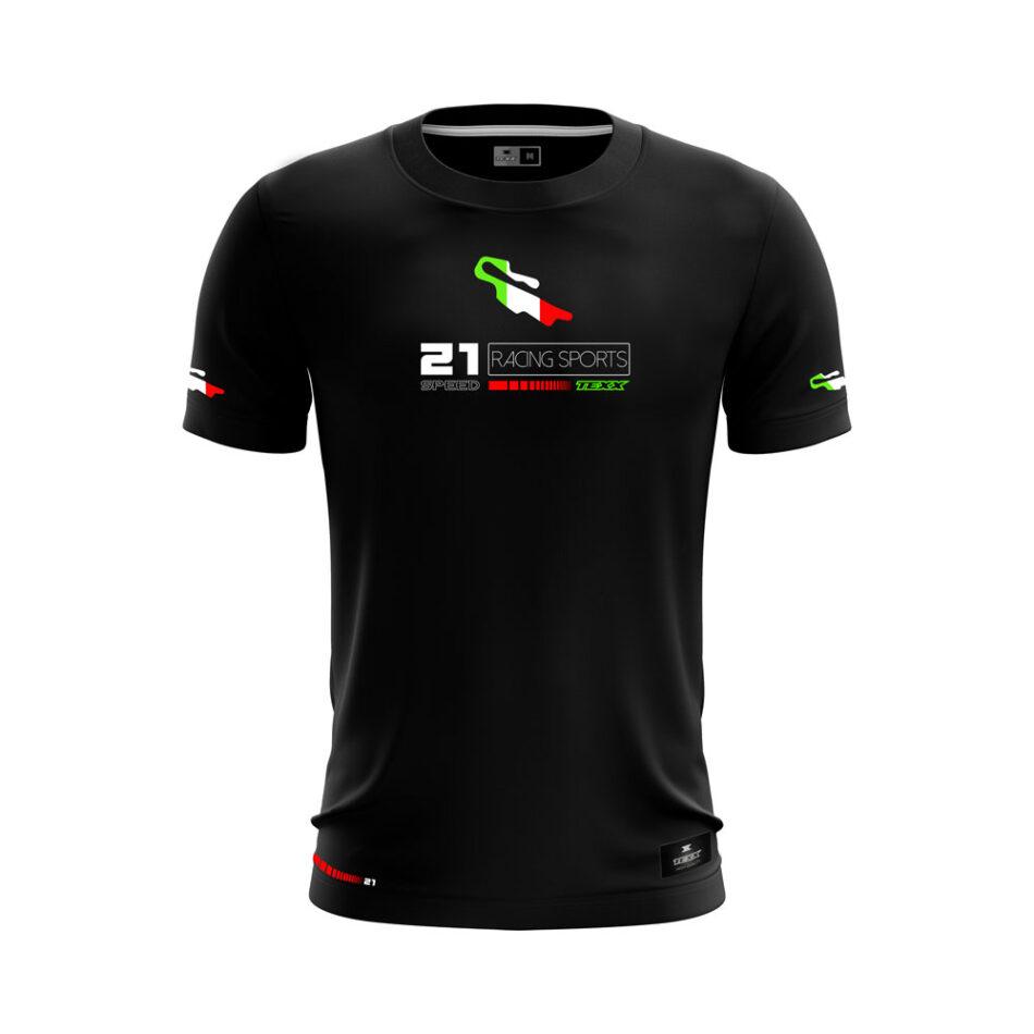 Camiseta Texx Preta Pista Mugello
