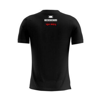 Camiseta Texx Preta Cyber Vermelha
