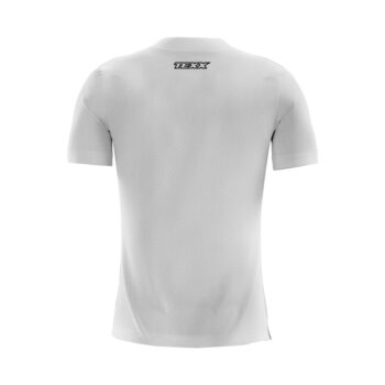Camiseta Texx Branca Box Azul